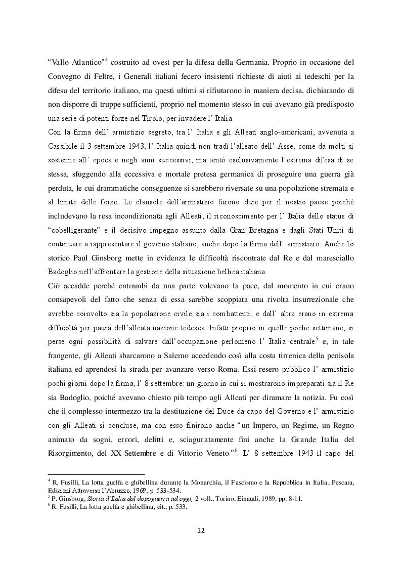 Estratto dalla tesi: ''Monarchia o Repubblica''. Il referendum istituzionale nella stampa italiana e abruzzese del 1946
