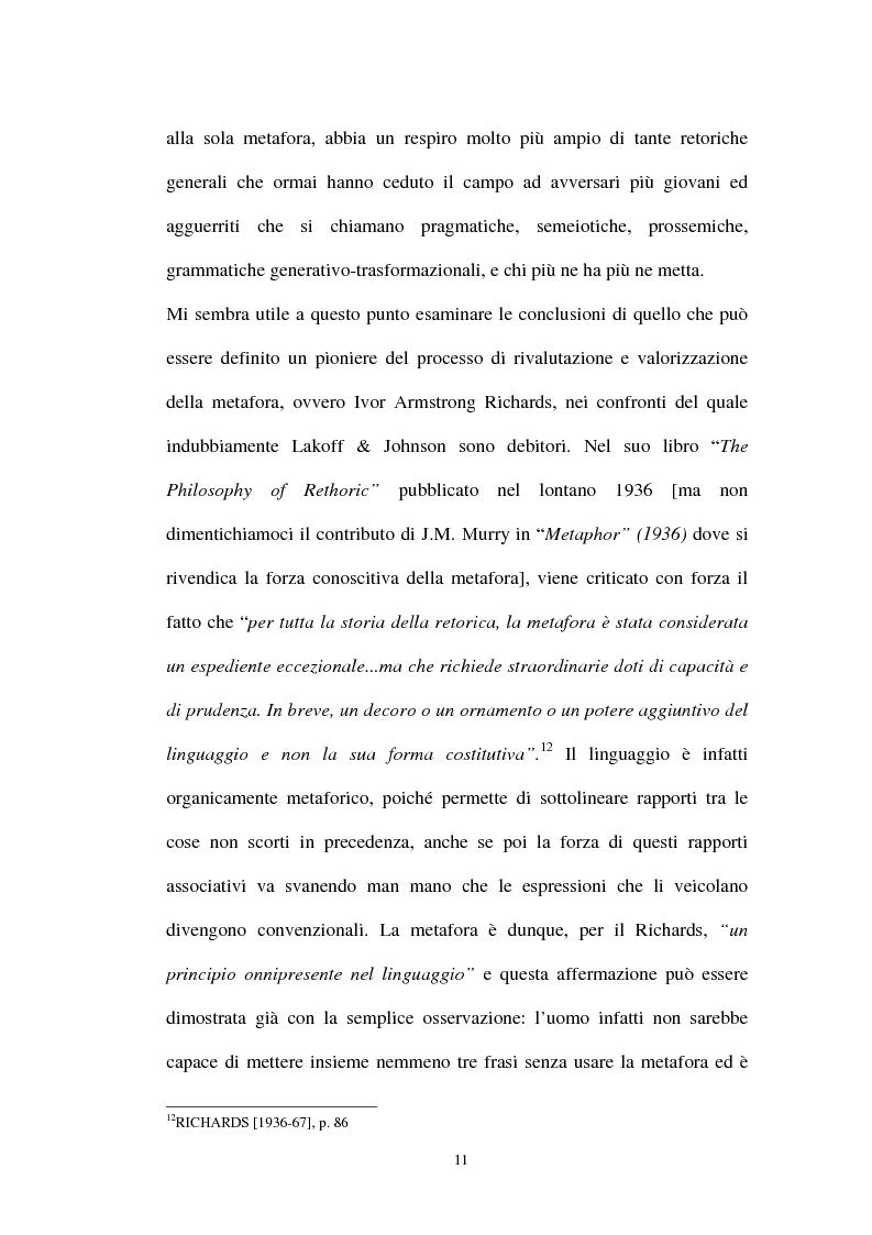 Anteprima della tesi: I sistemi metaforici concettuali nella politica contemporanea, Pagina 6