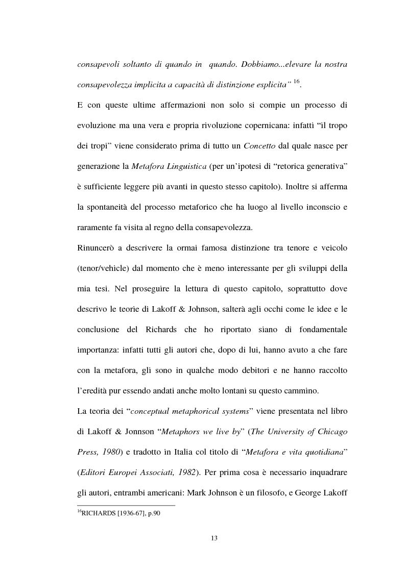 Anteprima della tesi: I sistemi metaforici concettuali nella politica contemporanea, Pagina 8