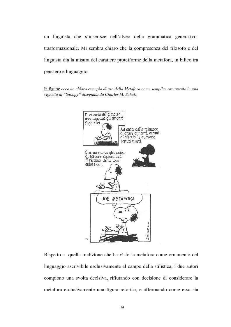 Anteprima della tesi: I sistemi metaforici concettuali nella politica contemporanea, Pagina 9