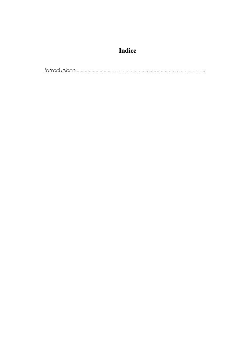 Indice della tesi: Giornalismo e Lettere - Dal giornalista letterato alla terza pagina, Pagina 1