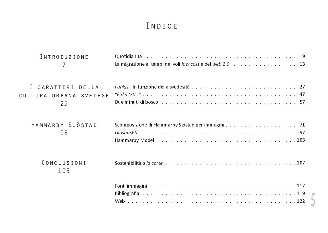 Indice della tesi: s-composizione di un quartiere modello: Hammarby Sjöstad, Stockholm, Pagina 1