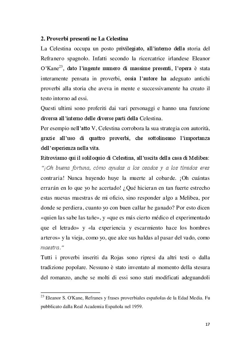 Estratto dalla tesi: La paremiologia nella letteratura spagnola del ''Siglo de Oro''