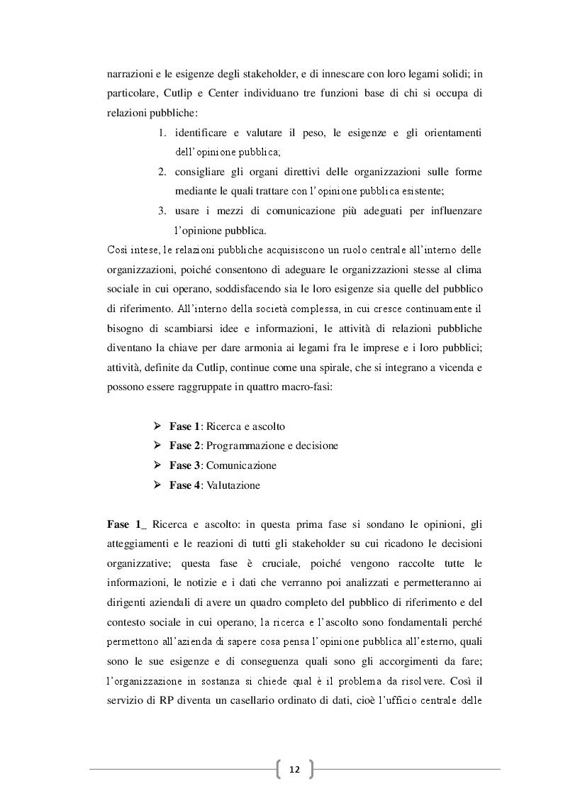 Estratto dalla tesi: Le organizzazioni 2.0 tra Corporate Communication e Social Media, nuove dinamiche nelle relazioni con gli stakeholder: il caso INPS.