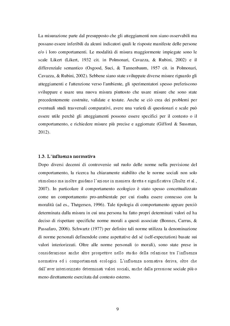 Estratto dalla tesi: Efficienza energetica e quartieri sostenibili. Uno studio sperimentale.