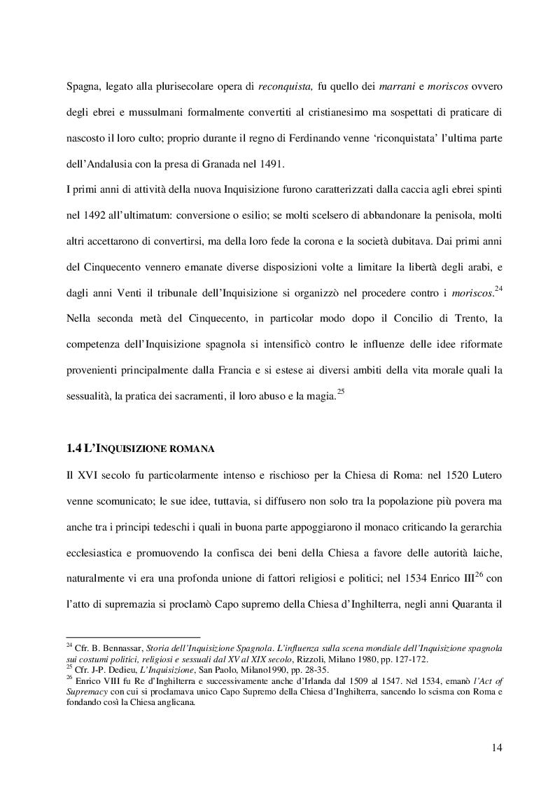 Estratto dalla tesi: Inquisizione e stregoneria: l'instructio pro formandis processibus in causis strigum, sortilegiorum et maleficiorum
