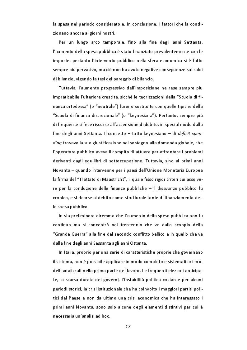 Estratto dalla tesi: Il ciclo politico-economico in Italia (1960-2008)