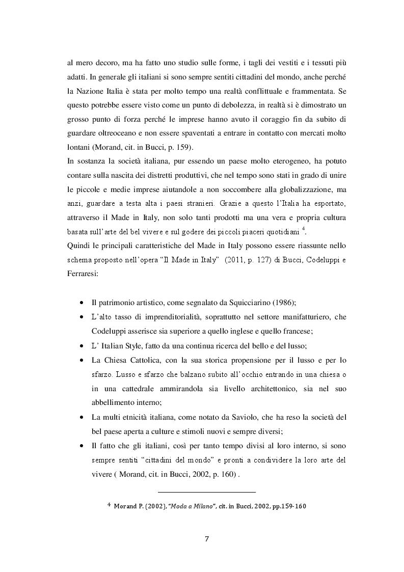 Estratto dalla tesi: Il Made in Italy e il settore alimentare: l'eccellenza italiana nel mondo attraverso il caso ''Barilla''