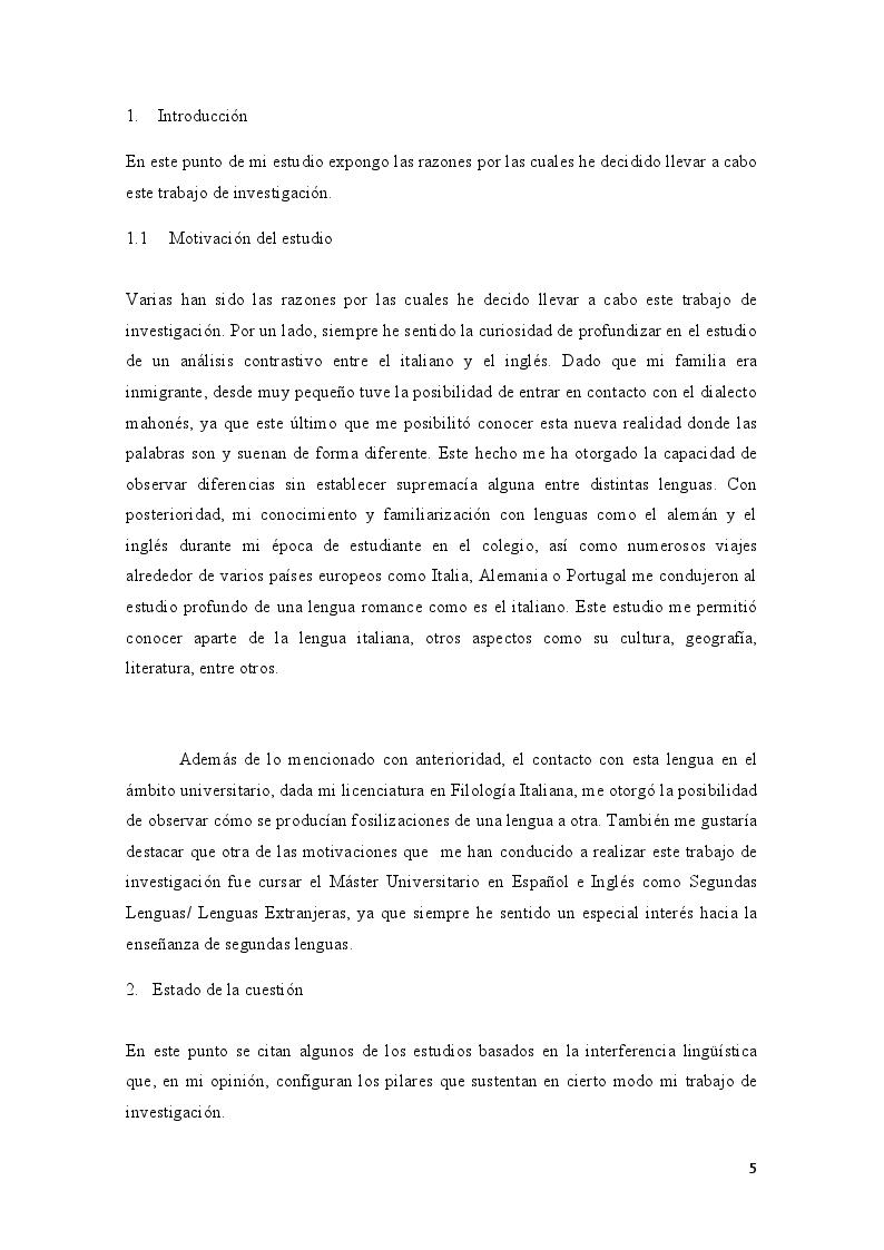 Anteprima della tesi: Interferencias fonéticas-fonologicas producidas por estudiantes italianos, Pagina 2