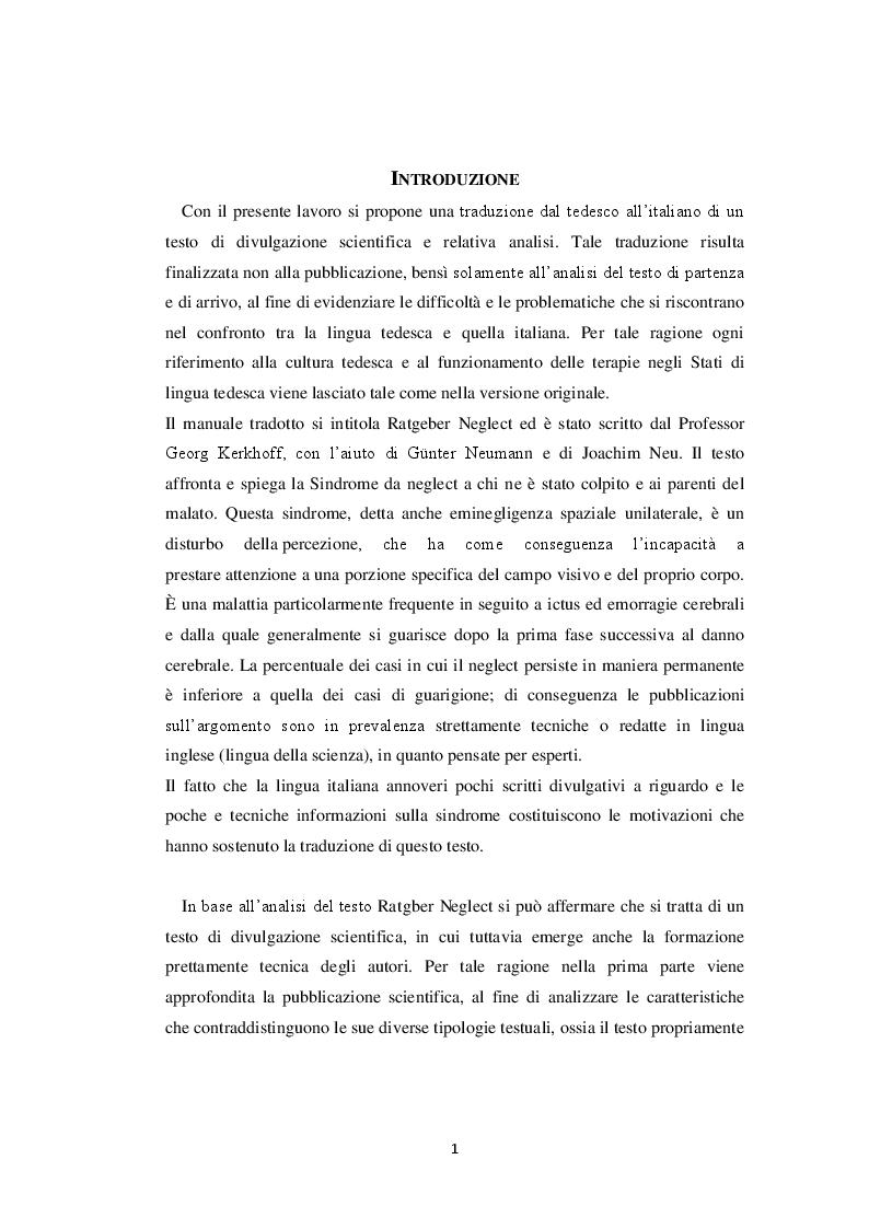 Ratgeber neglect proposta di traduzione e analisi di un - Dive testo e traduzione ...