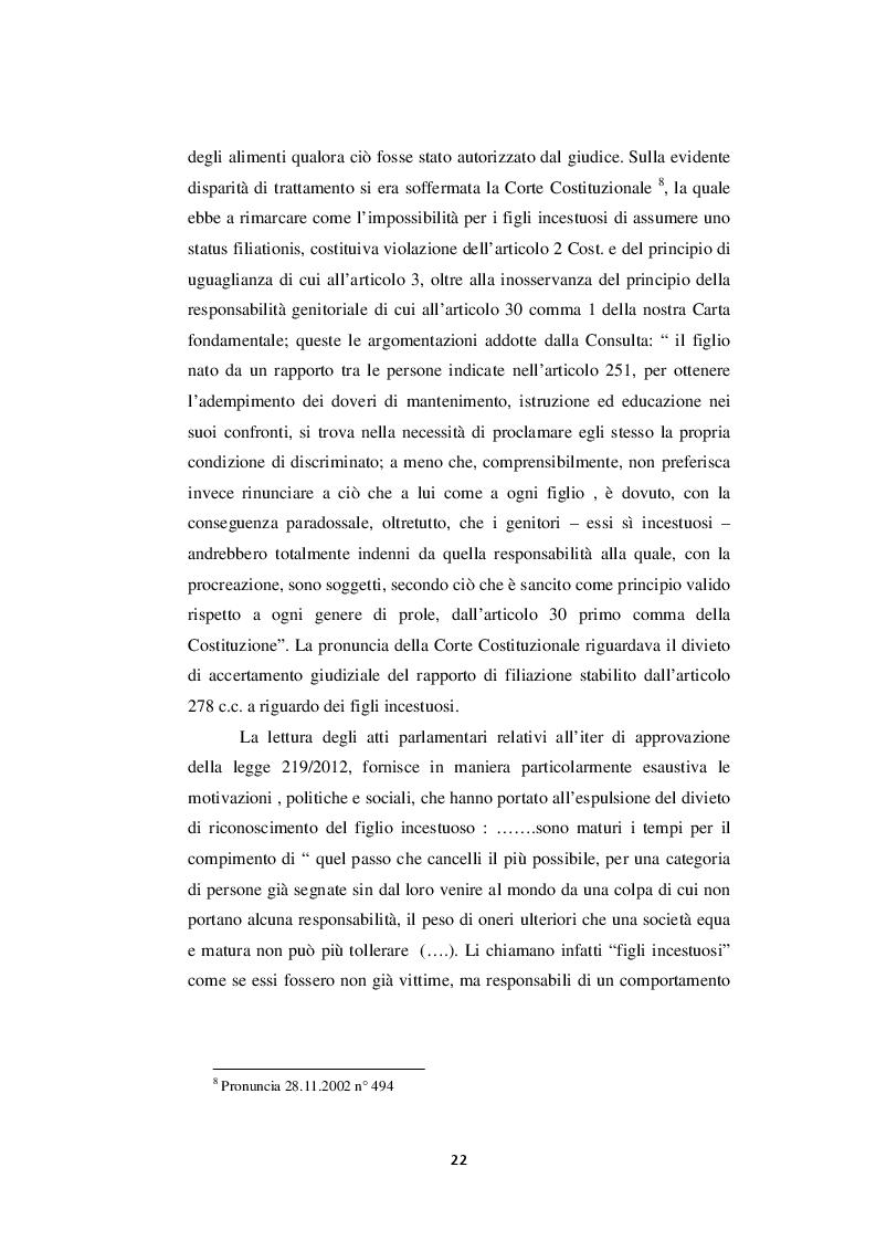 Estratto dalla tesi: La filiazione nel diritto francese