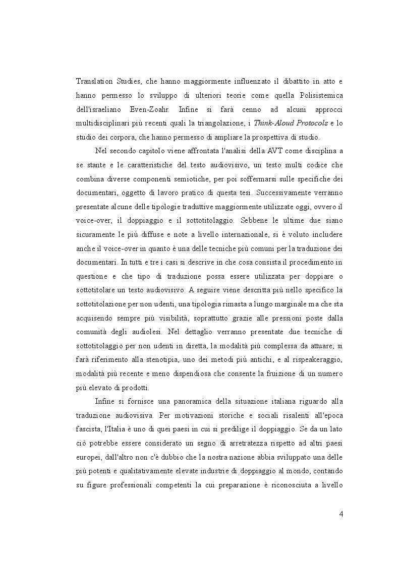 Anteprima della tesi: Letteratura sullo schermo. Traduzione e sottotitolaggio del documentario ''Unos pocos buenos amigos'' di Luis Ospina, Pagina 3