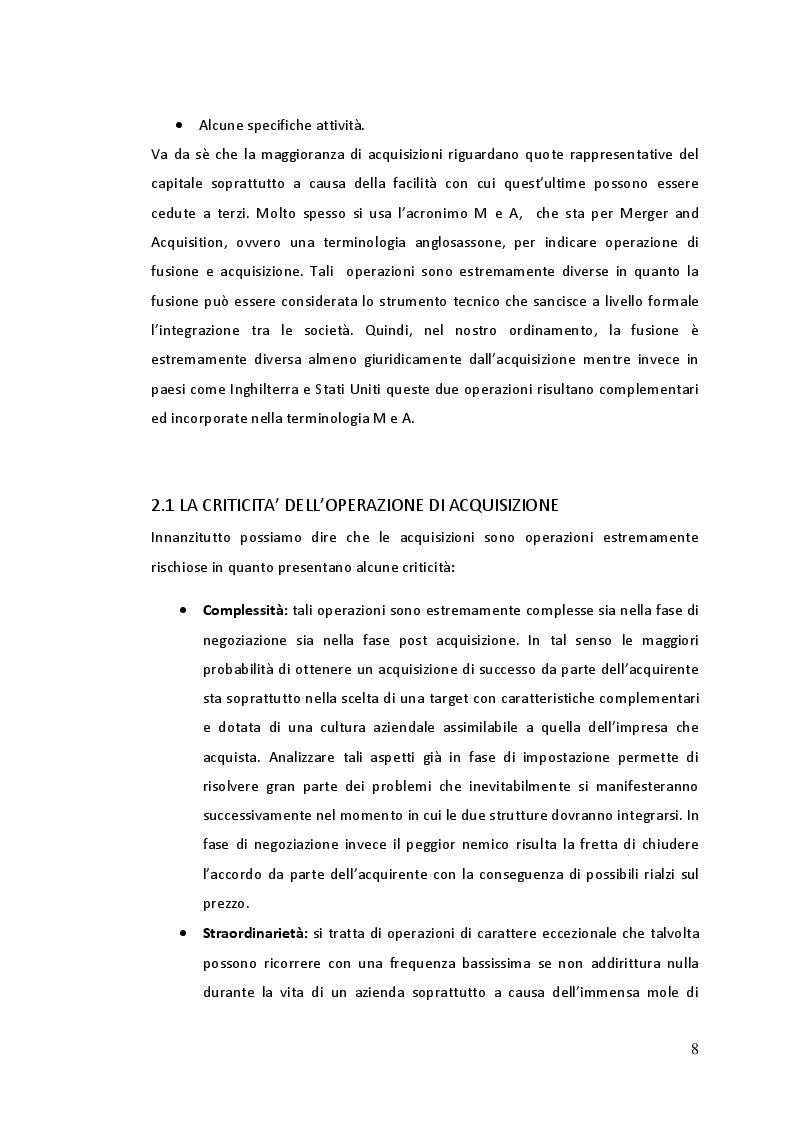 Estratto dalla tesi: L'accordo Fiat - Chrysler nell'ambito delle aggregazioni aziendali