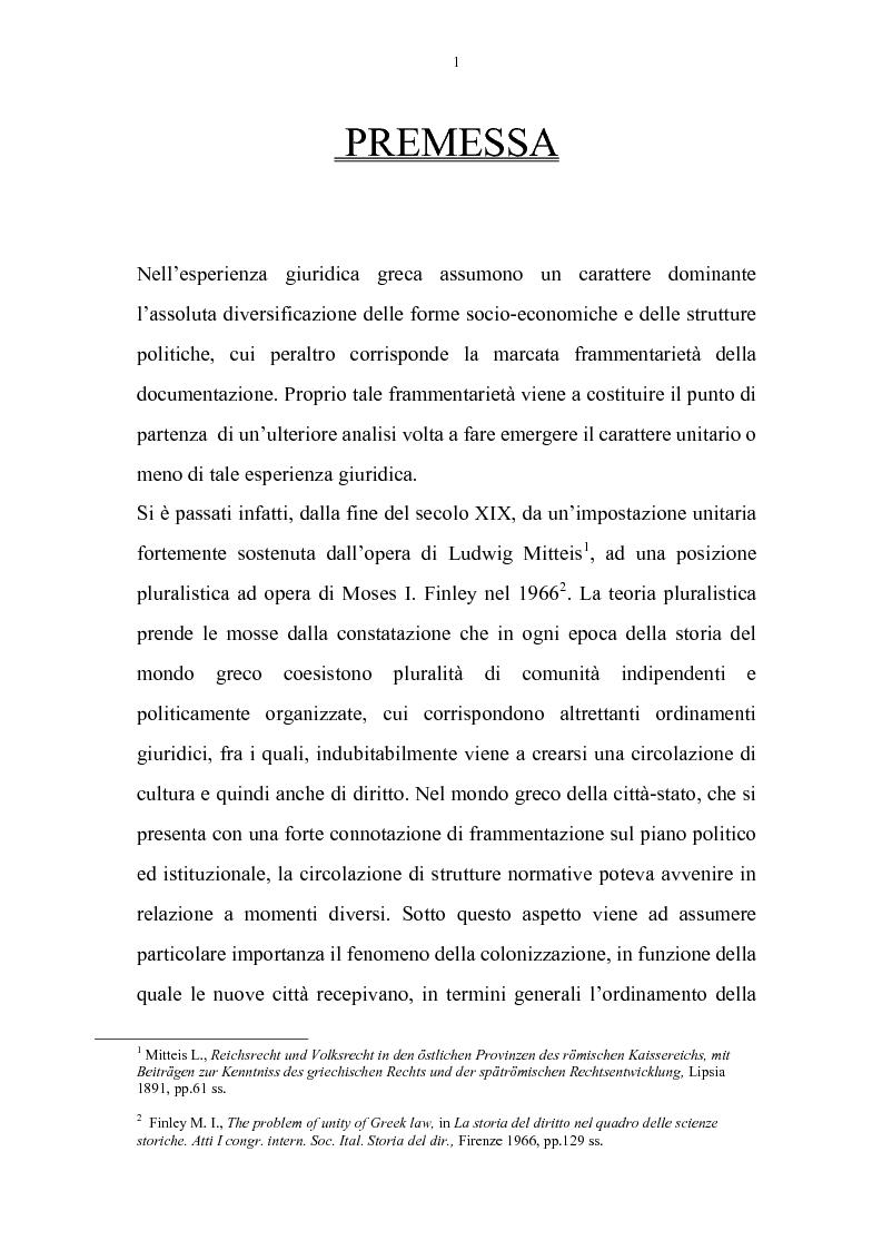 Anteprima della tesi: La cittadinanza a tutti gli abitanti del mondo romano. Problemi giuridici della constitutio antoniniana, Pagina 1