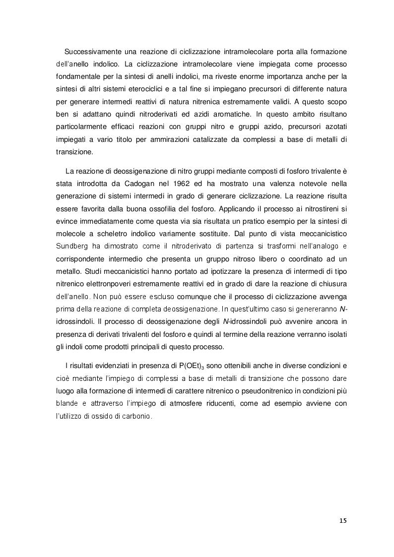 Estratto dalla tesi: Funzionalizzazione di alchinoni mediante reazioni con nitrosoareni