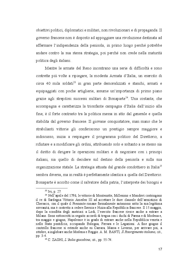 Estratto dalla tesi: Un caso di giornalismo politico nel Triennio giacobino: ''Il Monitore Napoletano'' (1799)