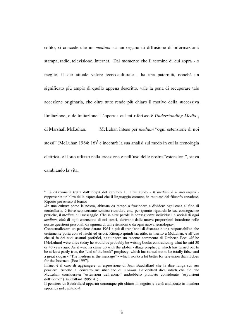 Anteprima della tesi: La recente evoluzione dei media digitali e le sue conseguenze sul pensiero filosofico, Pagina 6