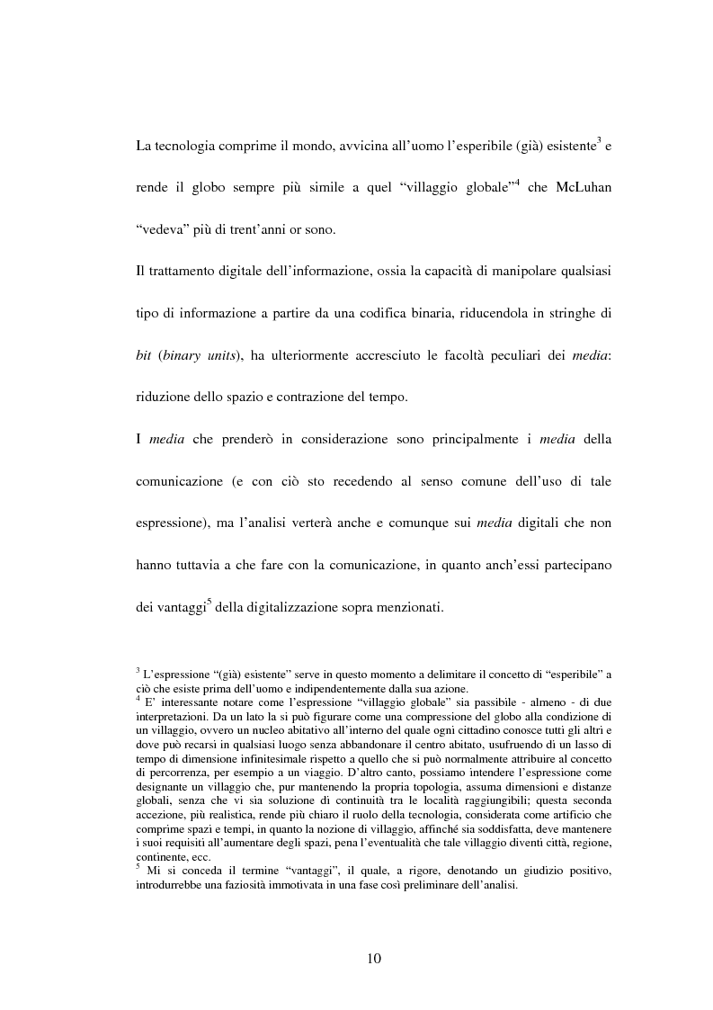 Anteprima della tesi: La recente evoluzione dei media digitali e le sue conseguenze sul pensiero filosofico, Pagina 8