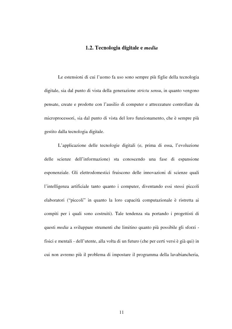 Anteprima della tesi: La recente evoluzione dei media digitali e le sue conseguenze sul pensiero filosofico, Pagina 9