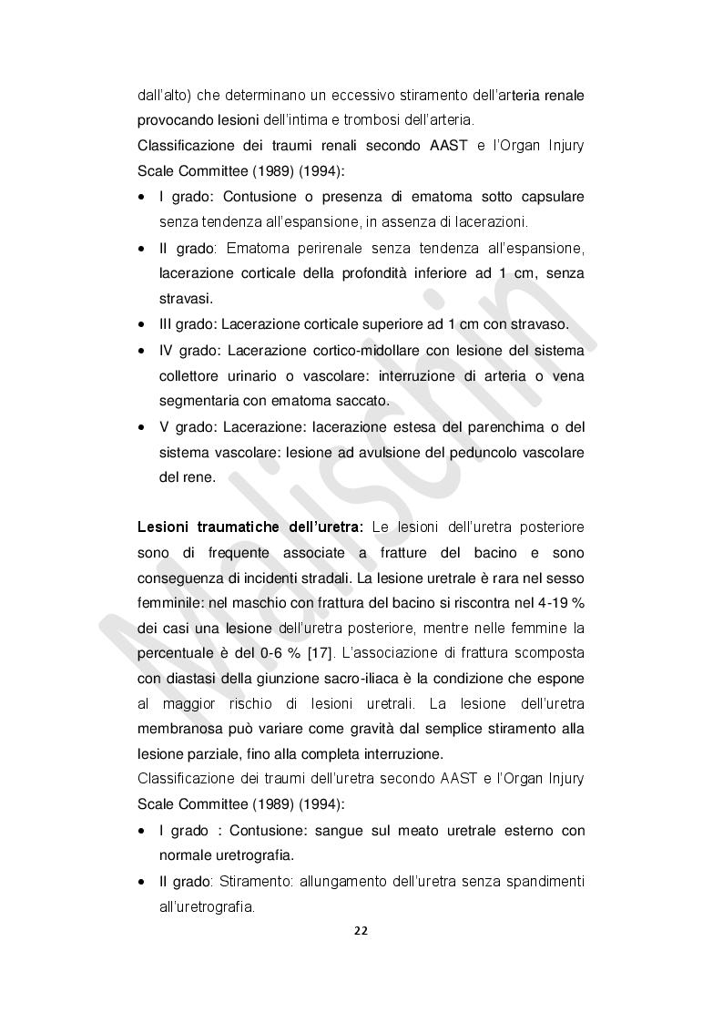 Estratto dalla tesi: Assistenza infermieristica in triage nella gestione delle lesioni vascolari traumatiche: revisione della letteratura