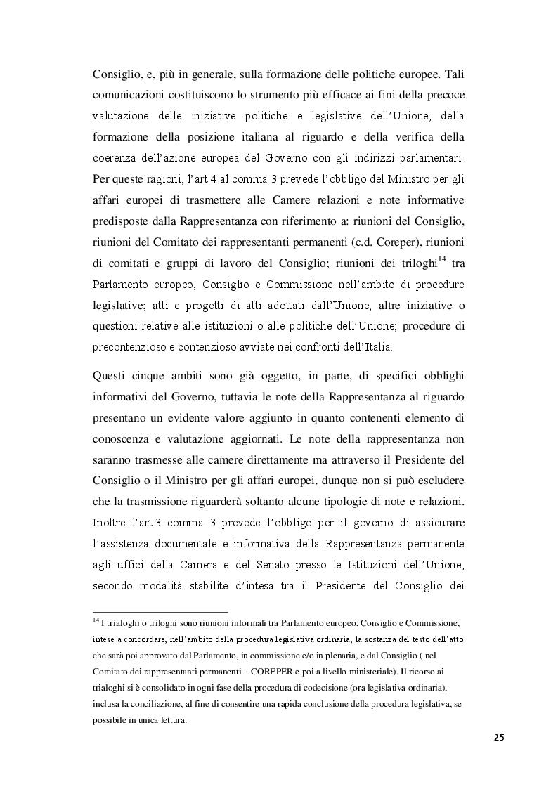 Estratto dalla tesi: La partecipazione dell'Italia alla formazione e all'attuazione della normativa comunitaria: la legge 24 dicembre 2012 n°234