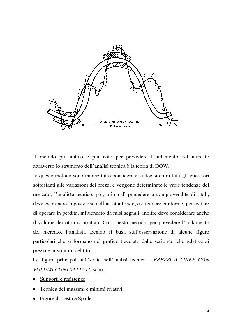 Anteprima della tesi: Teoria dei giochi ed analisi tecnica: un'applicazione ai mercati finanziari, Pagina 2