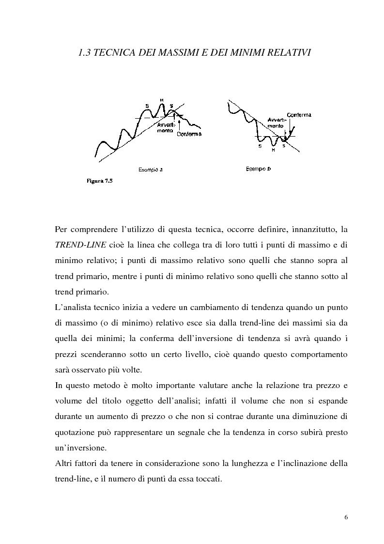 Anteprima della tesi: Teoria dei giochi ed analisi tecnica: un'applicazione ai mercati finanziari, Pagina 4