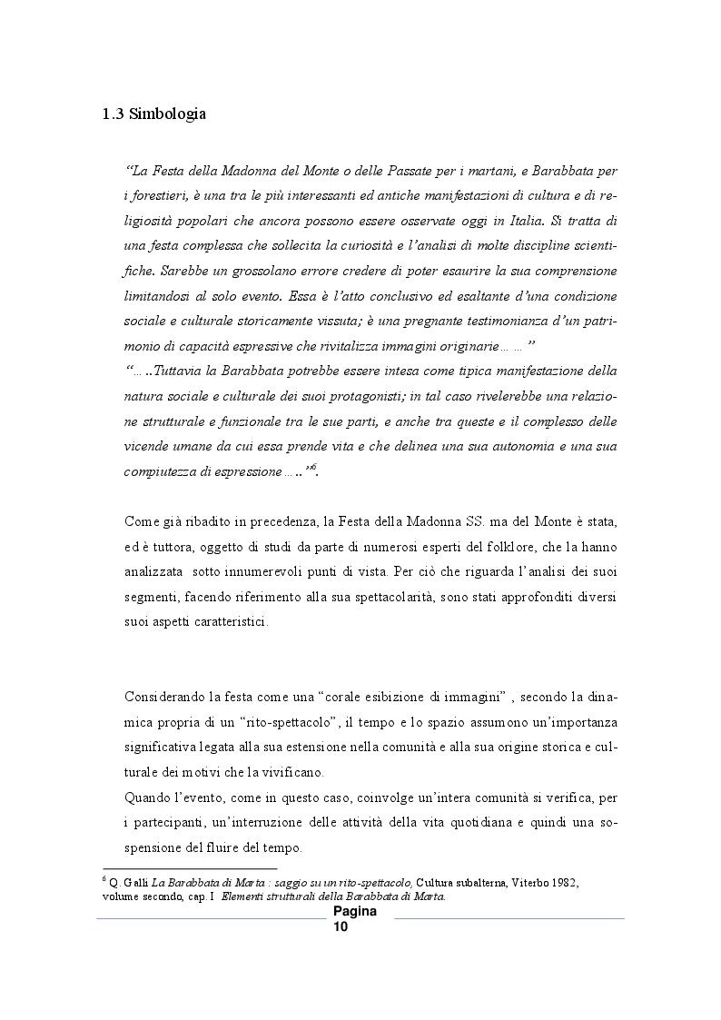 Estratto dalla tesi: Madonna Santissima del Monte: fonosfera e vocalità