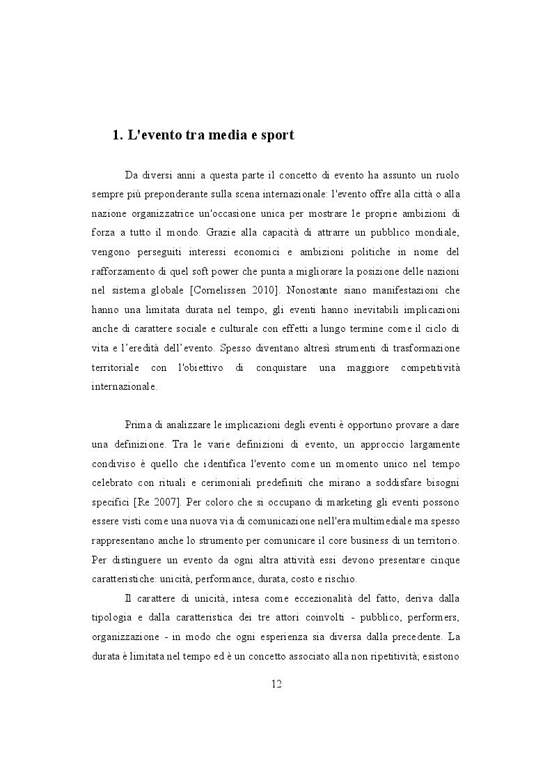 Anteprima della tesi: Mondiali e Olimpiadi: gli occhi dei media sul Brasile, Pagina 7