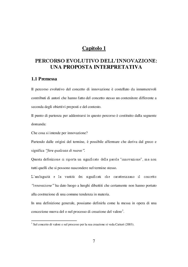 Anteprima della tesi: L'innovazione del business model nei settori produttivi maturi: il caso Indesit Company, Pagina 2
