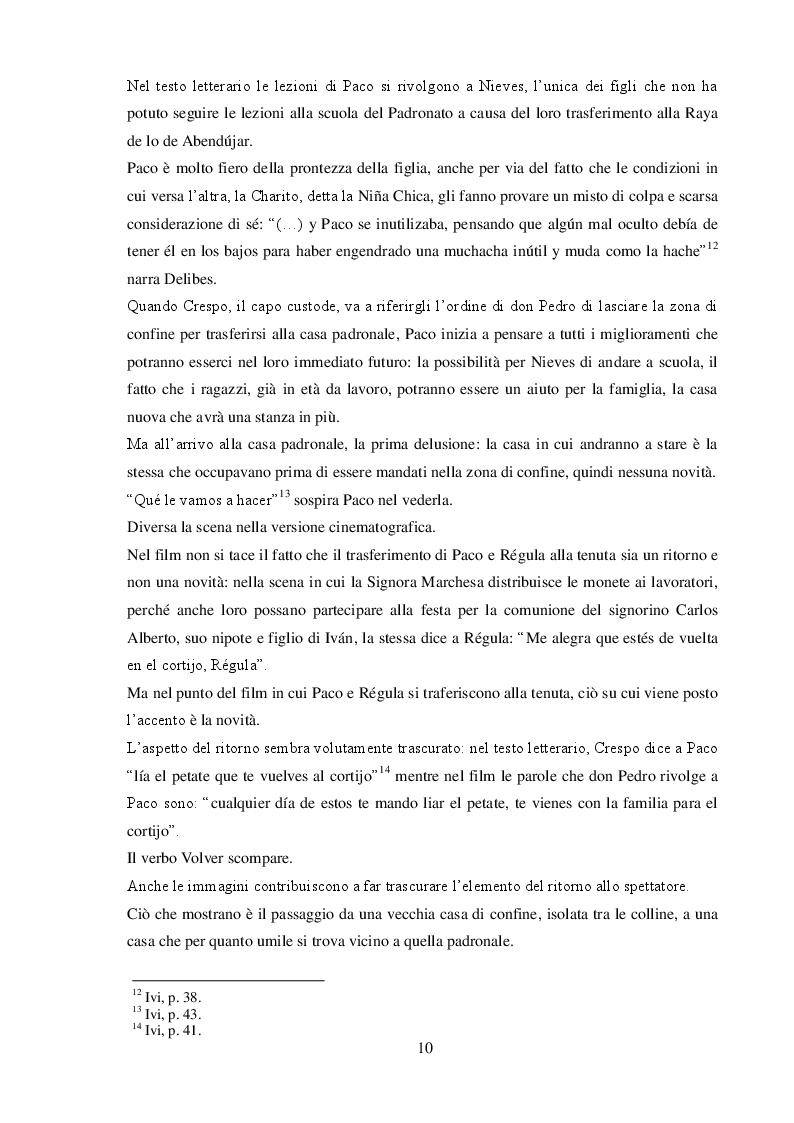 """Estratto dalla tesi: Da Miguel Delibes a Mario Camus: la traduzione nella trasposizione cinematografica de """"Los santos inocentes"""""""
