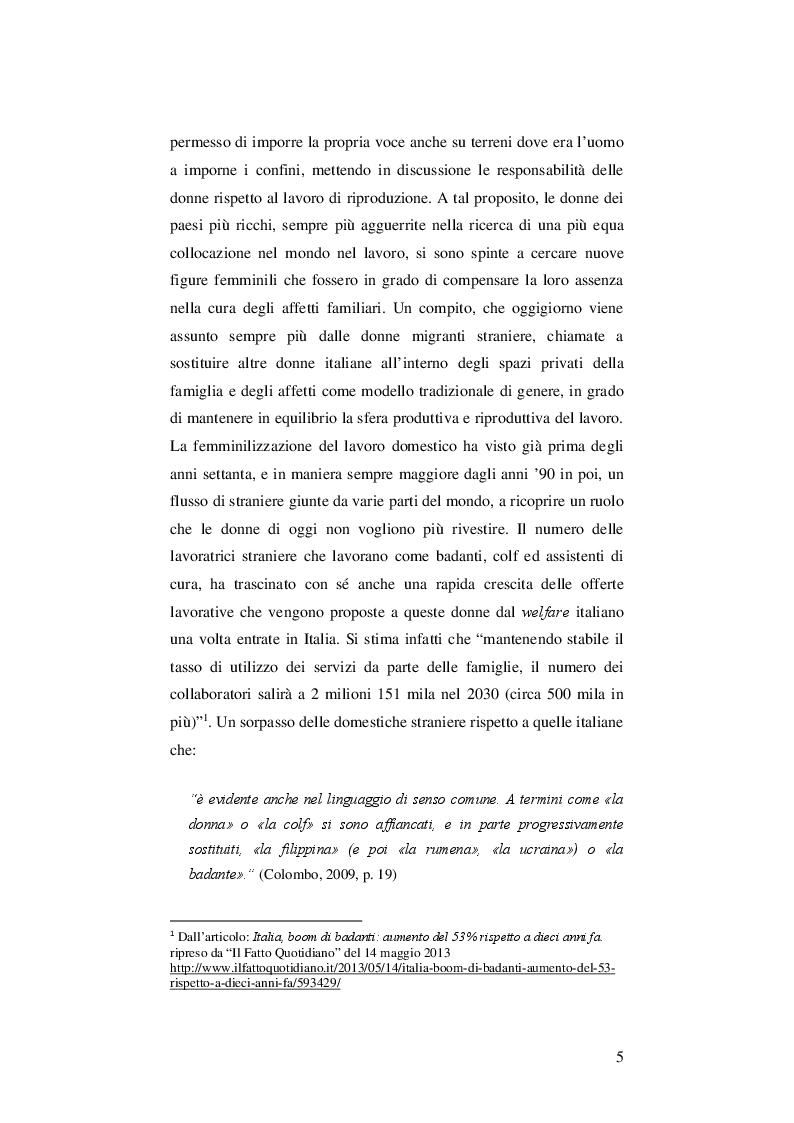 Anteprima della tesi: Da badante a moglie: un'analisi etnografica delle unioni tra donne rumene e uomini lucani, Pagina 3