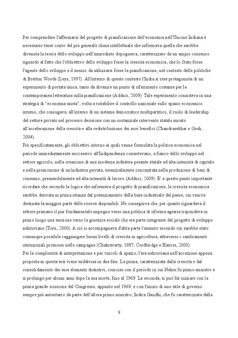 Anteprima della tesi: Tra rappresentazione e realtà: Gli effetti socio-economici della liberalizzazione del settore minerario nello stato dello Jharkhand, Pagina 7