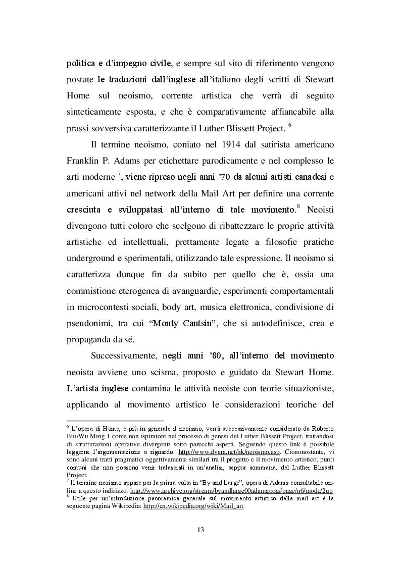 Estratto dalla tesi: Riscrivere la storia: ''Manituana'' di Wu Ming e il romanzo neostorico italiano