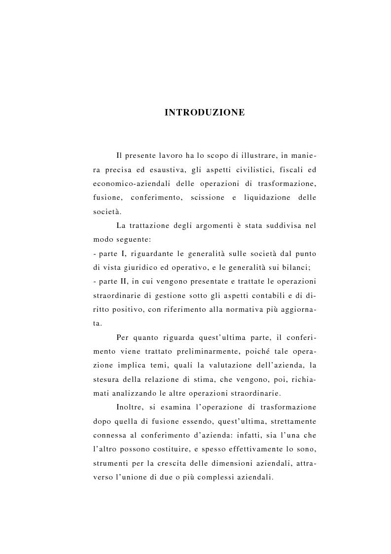 Anteprima della tesi: Le liquidazioni: aspetti economico-aziendali e di diritto positivo, Pagina 1