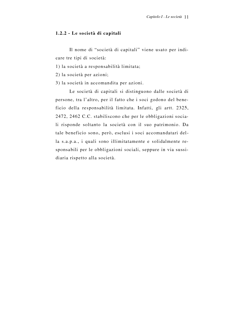 Anteprima della tesi: Le liquidazioni: aspetti economico-aziendali e di diritto positivo, Pagina 6