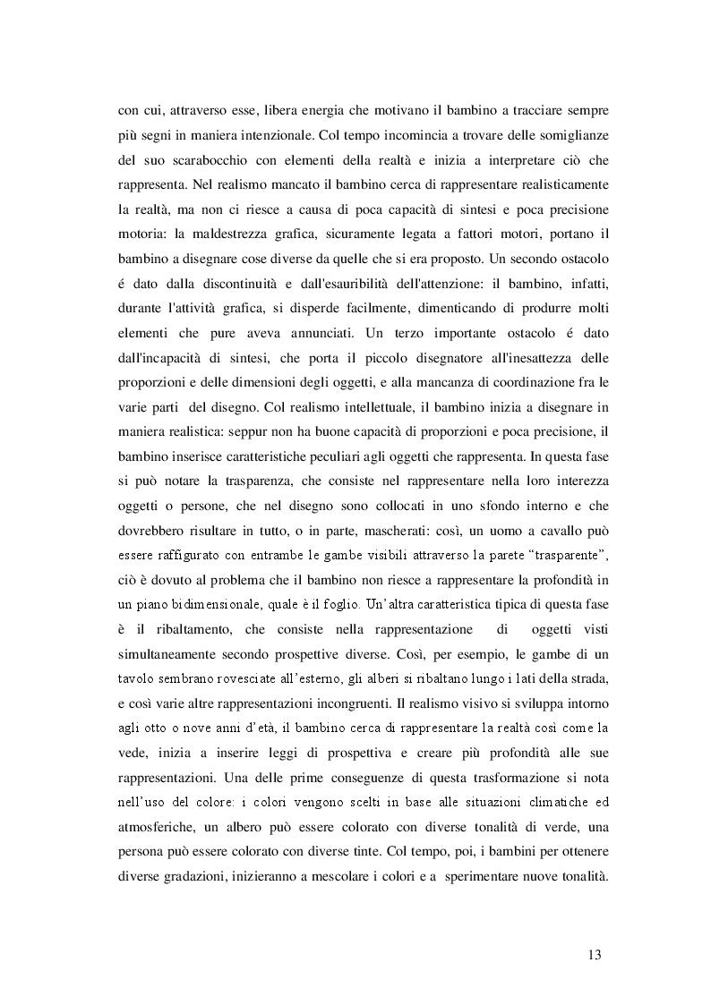 Estratto dalla tesi: Dallo scarabocchio alla scrittura. Strumenti e metodi per insegnare a scrivere