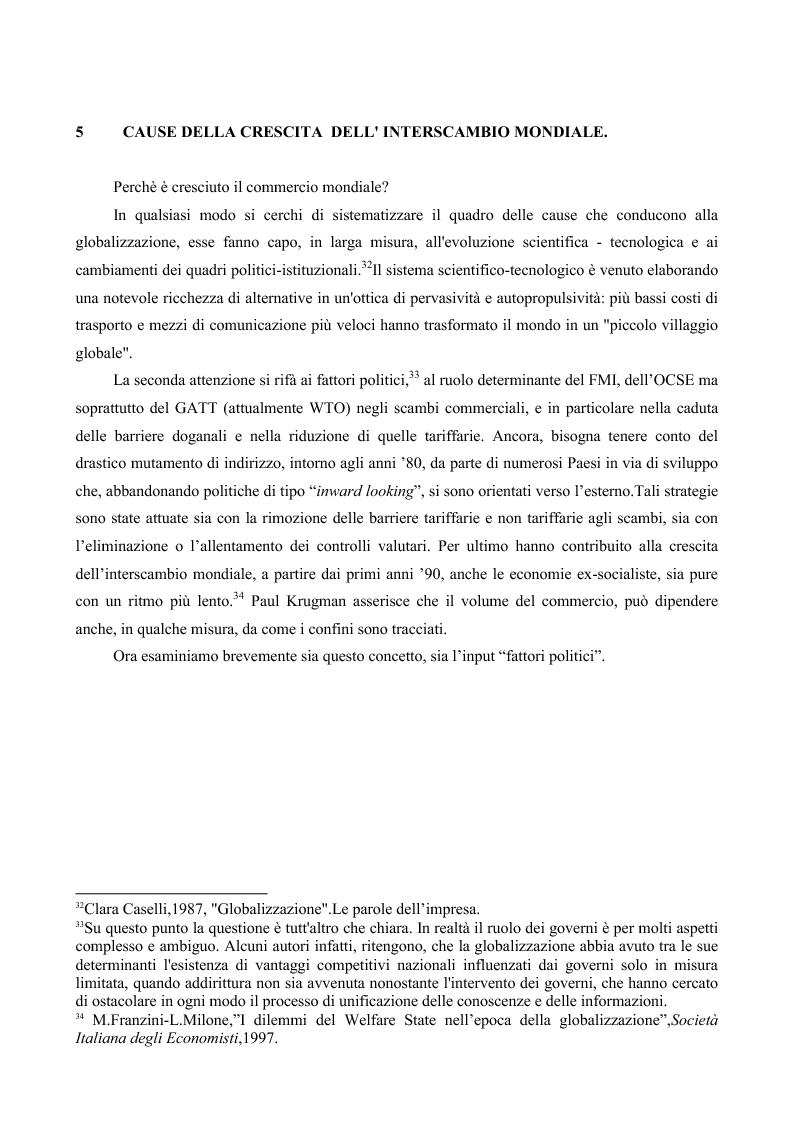 Anteprima della tesi: La globalizzazione e il mercato del lavoro: la realtà americana ed europea a confronto, Pagina 14