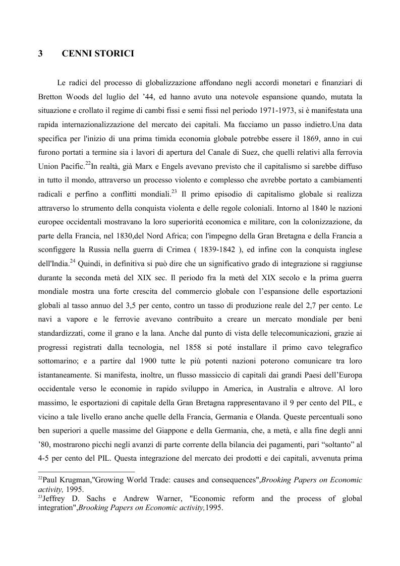 Anteprima della tesi: La globalizzazione e il mercato del lavoro: la realtà americana ed europea a confronto, Pagina 8