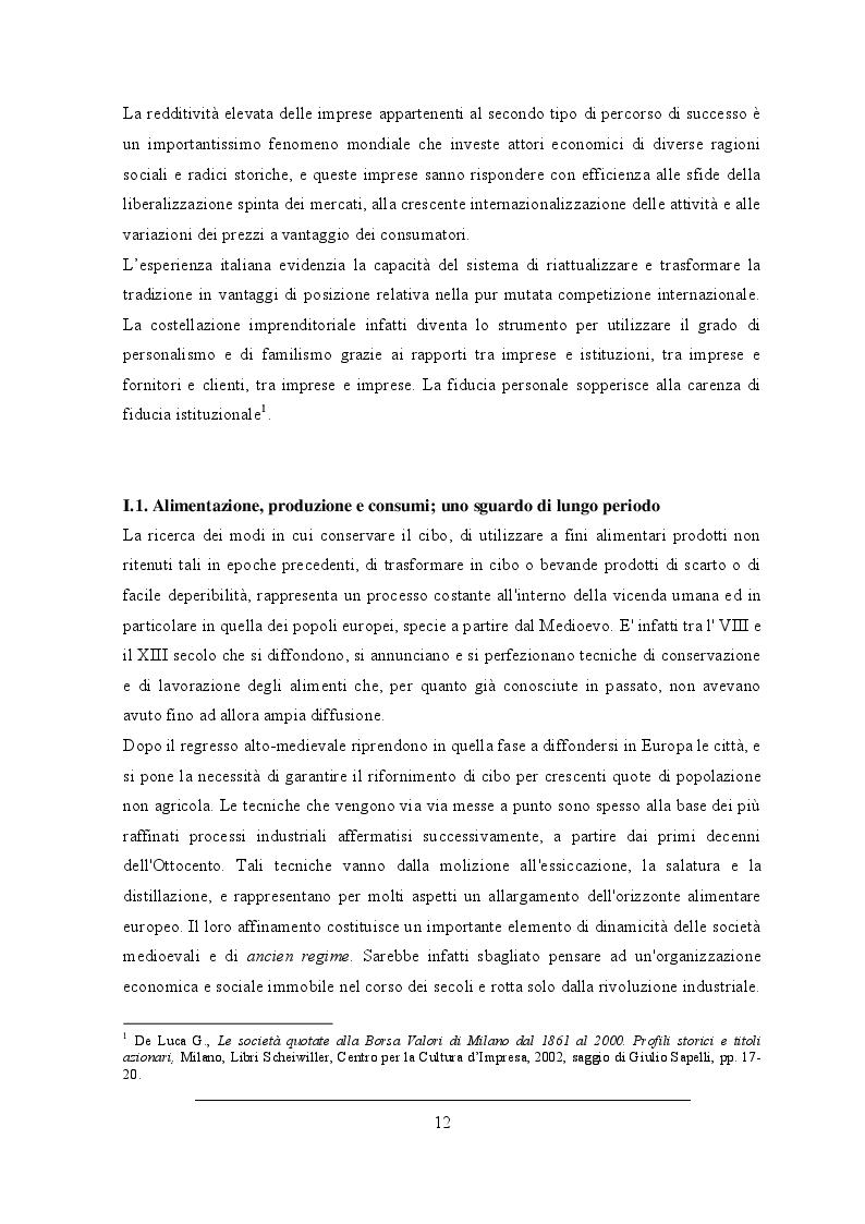 Estratto dalla tesi: L'industria alimentare italiana tra il recupero della storia d'impresa e le multinazionali. Il caso aziendale Birra Peroni S.p.A.