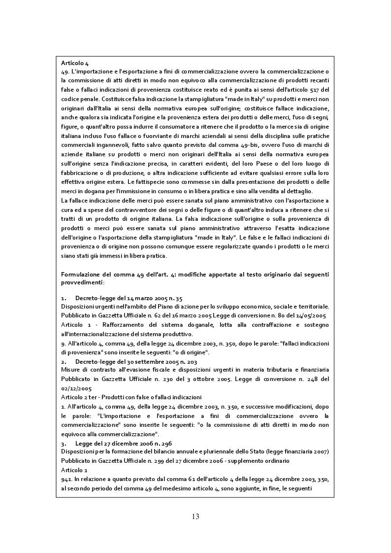 Estratto dalla tesi: Gli strumenti per la lotta alla contraffazione del Made in Italy: il caso aziendale Pedrollo