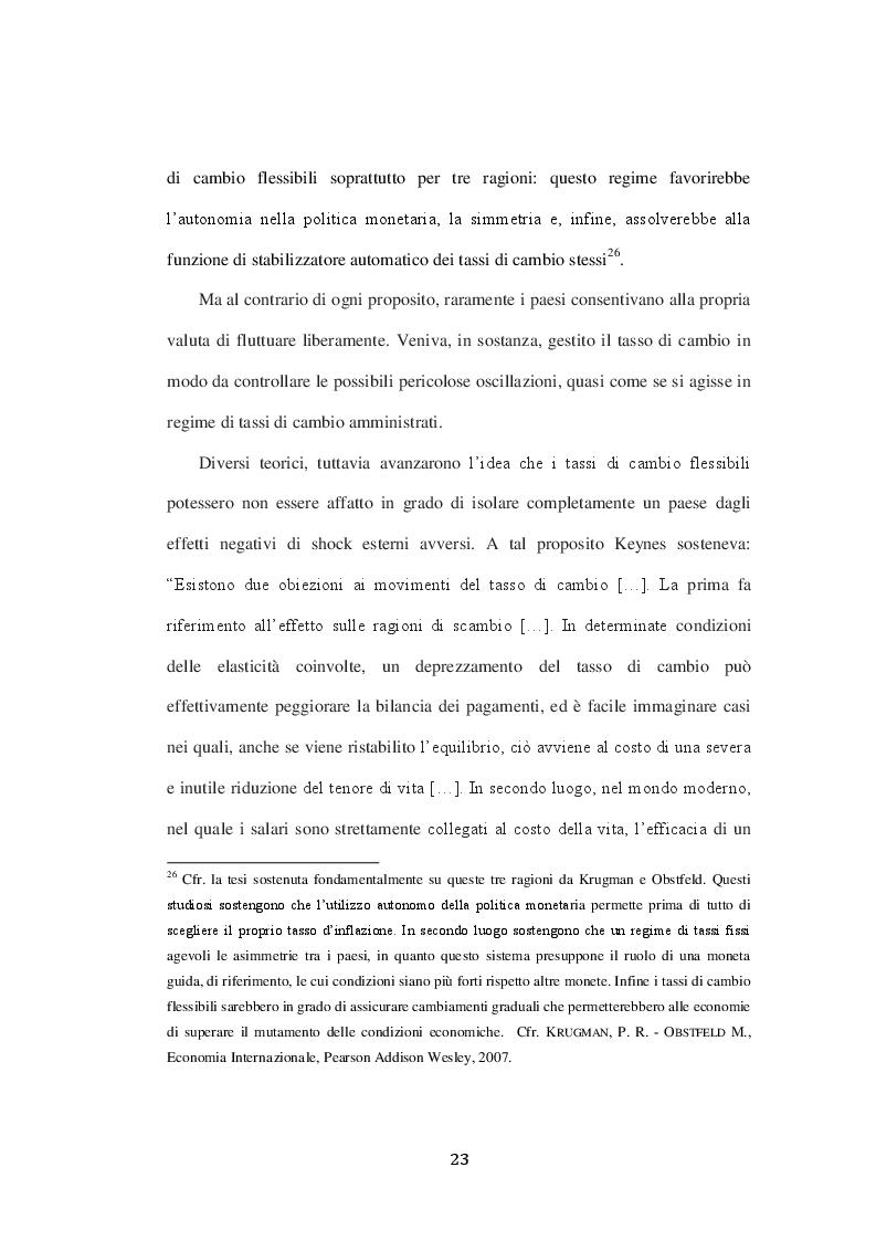 Estratto dalla tesi: Jean Paul Fitoussi: Politica Europea e crisi economico finanziaria