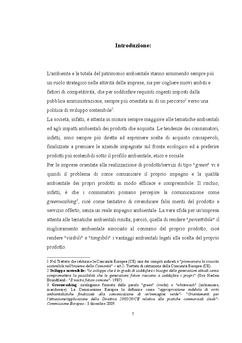 Anteprima della tesi: La sostenibilità ambientale come fattore di competitività nel settore legno-arredamento, Pagina 2