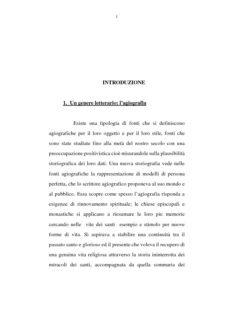 Adsone: un agiografo del X secolo. Il caso della vita Bercharii (B.H.L. 1178) - Tesi di Laurea
