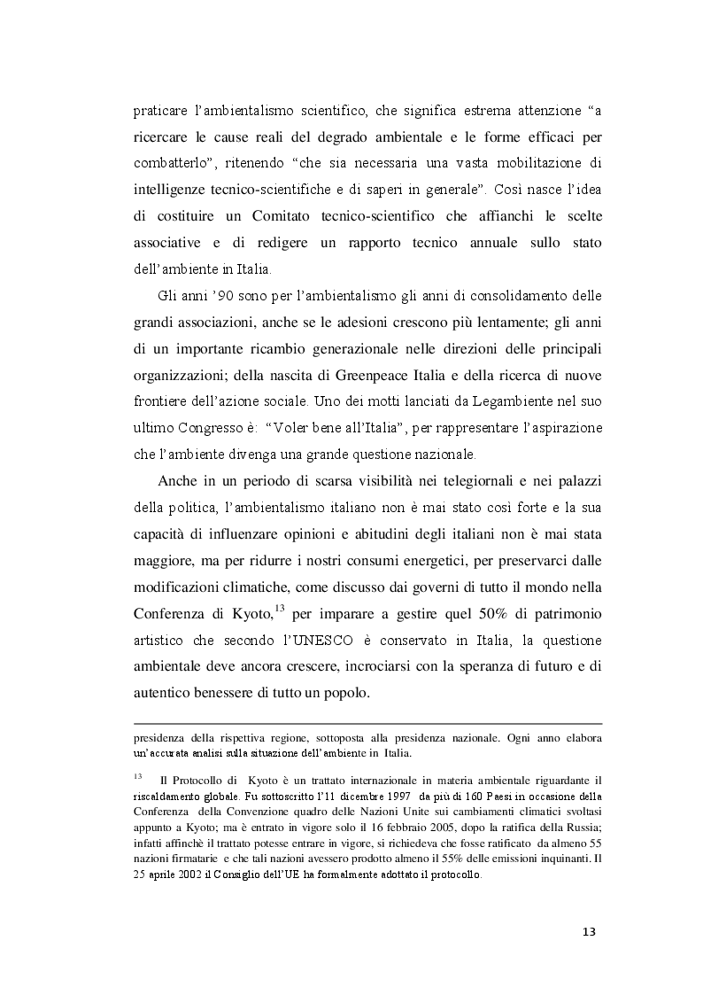 Estratto dalla tesi: Politiche ambientali sostenibili e sviluppo ecosistemico nelle aree protette. Il caso del Parco Nazionale delle Cinque Terre