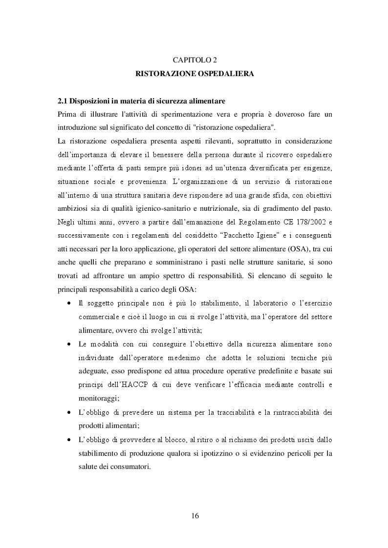 Estratto dalla tesi: La bioluminescenza: un metodo rapido per la validazione dei processi di sanificazione nella ristorazione ospedaliera