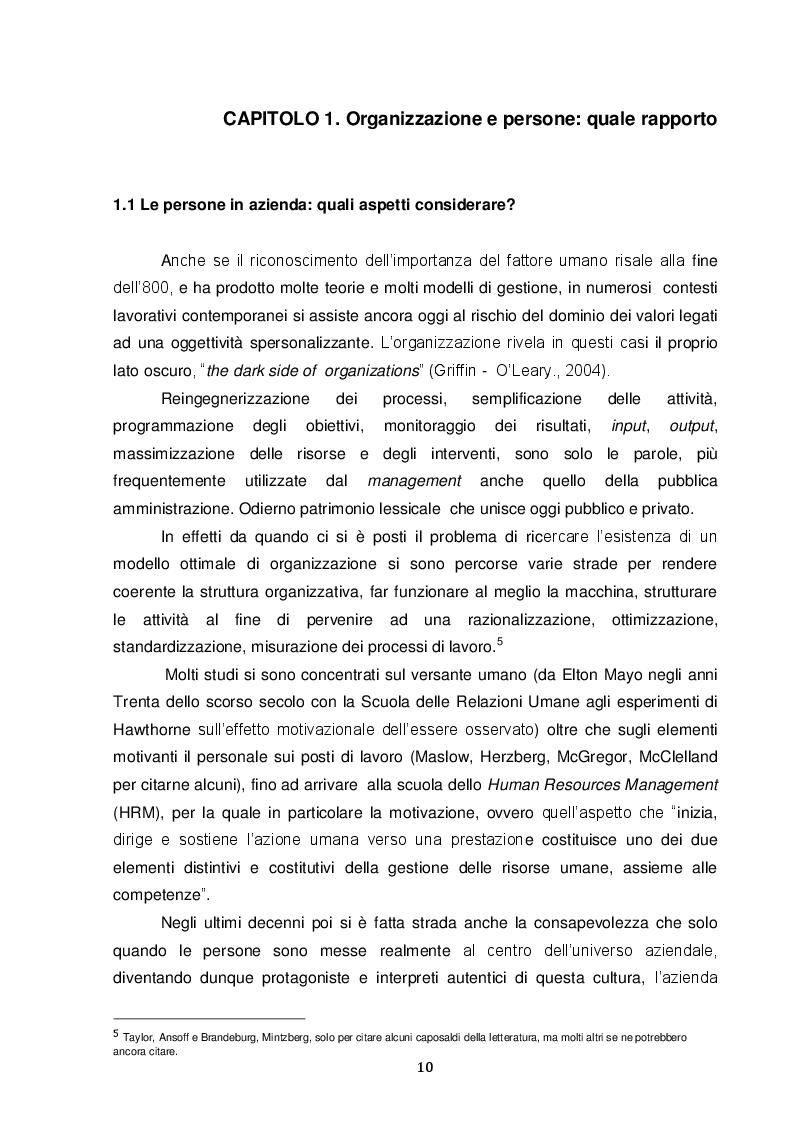 Estratto dalla tesi: Le competenze possibili nei processi di integrazione aziendale. Inps-Inpdap: un caso di storytelling
