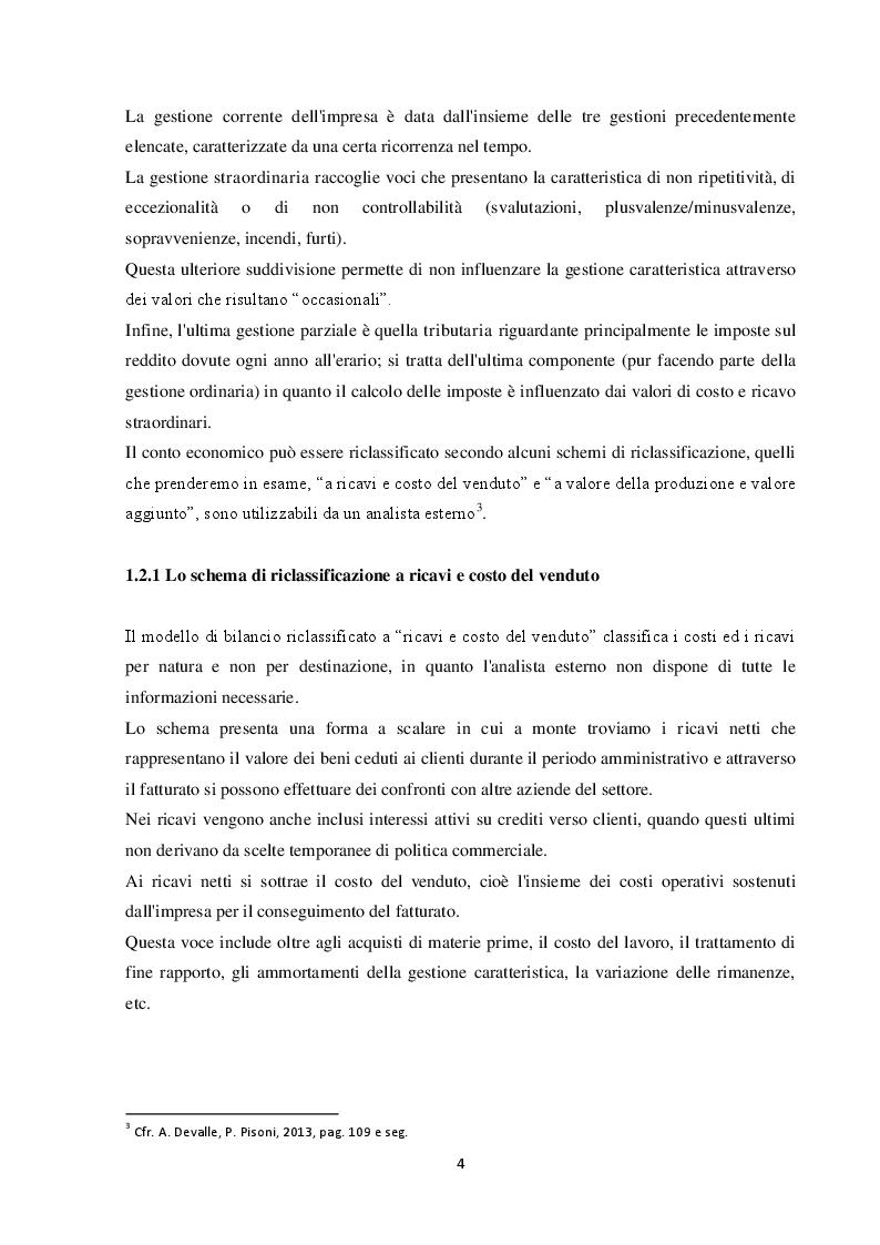 Estratto dalla tesi: L'analisi del bilancio d'esercizio dell'impresa O.M.P. Porro S.p.A.