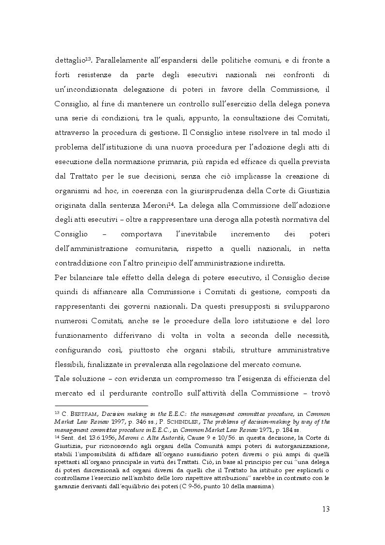 Estratto dalla tesi: I Comitati nel quadro istituzionale dell'Unione Europea