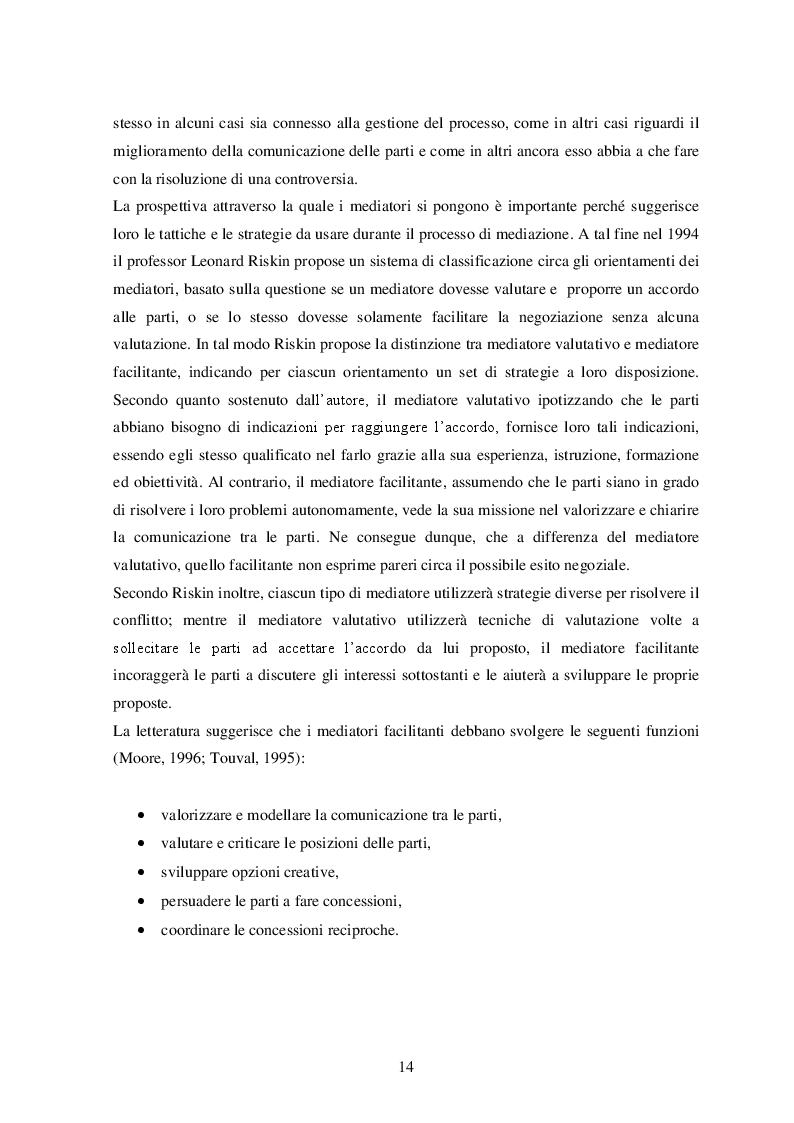Estratto dalla tesi: La personalità del negoziatore di successo: evidenze dall'accordo Microsoft - Nokia